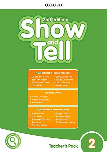 Buy Show and Tell: Level 2: Teacher's Pack Book Online at