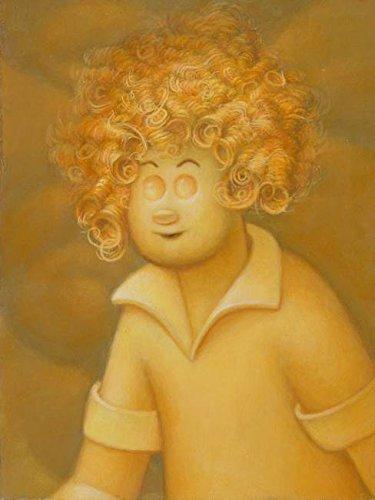 Imagekind Wall Art Print Entitled Little Orphan Annie Jere Smith | 11 x 15