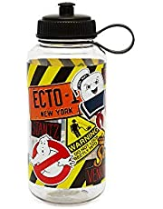 Stunned Mind Ghostbusters 17 oz Single Walled, Transparent Water Bottle with 4C Decals.
