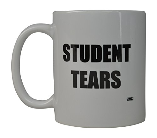Funny Teacher Gift Coffee Mug Best Teacher Student Tears Novelty Cup Gift Idea For Teachers
