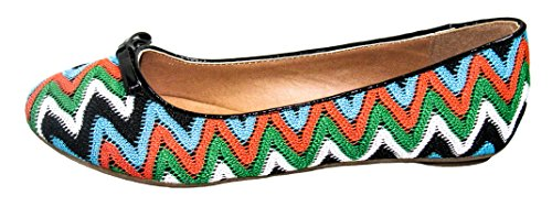 5 flat Womens D Oxton CityClassified Bright US M multi shoe S pCO0f1