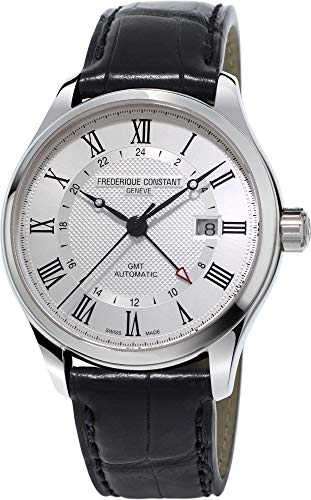Frederique Constant Geneve CLASSICS AUTO GMT FC-350MC5B6 Automatic Mens Watch Swiss Made