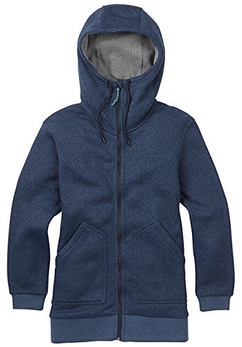 Burton minxy Forro Polar con Capucha Mood Indigo Heather