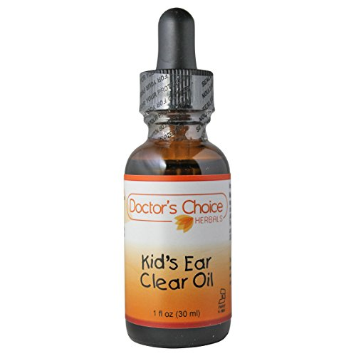 Doctor's Choice Kid's Ear Clear Oil Liquid Herbal Supplement with Mullein Flower, Coptis Root, Garlic Bulb, and Arnica Flower, 30ml, Kosher – PREMIUM QUALITY – Glass Bottle. Review