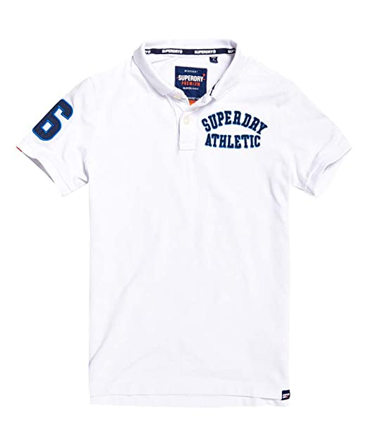 Superdry Classic Superstate Pique Polo Hombre: Amazon.es: Ropa y ...