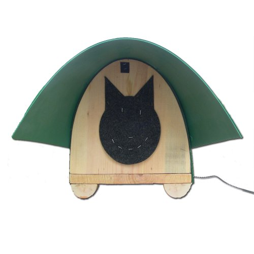 Feline Furniture Heated Feral Cathouse, My Pet Supplies