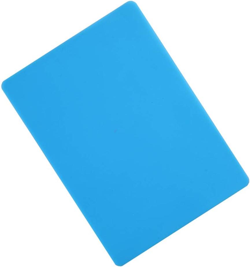 Artibetter Tappetino in Silicone Stampo in Resina Mantenere scrivania Pulita Foglio di stuoia di Argilla per Gioielli Fai da Te colata Fare l 4 pz