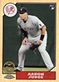2017 Topps Chrome 1987 Topps Design Refractor #87T-8 Aaron Judge Baseball Rookie Card
