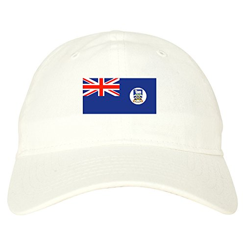 Falkland Islands Flag Country Chest Dad Hat Baseball Cap ()