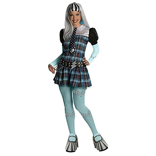 Secret Wishes Monster High Deluxe Adult Frankie Stein Cos...