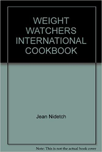 Weight Watchers International Cookbook Jean Nidetch Photo