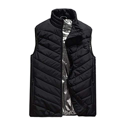 elephanted Sweater Winter Coat Men's Lightweight Insulated Heated Vest USB Heating Sports Down Vest USB Charging - Usb 1400