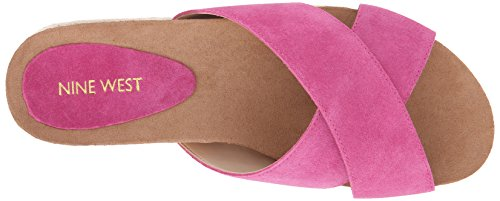 Suede West Nine Platform Medium Sandale Amyas Pink aBqOx1