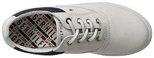 White Tommy W3285inston Sneakers Basses 100 Garçon Hilfiger Blanc Jr 1d wfaH8