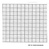 Graphic Controls - CLH GD200078 - Strip Chart, Roll, Range None, 50 Ft, PK5