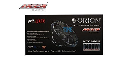 Orion HCCA64N 6.5 High Performance Speaker HCCA Series PAIR