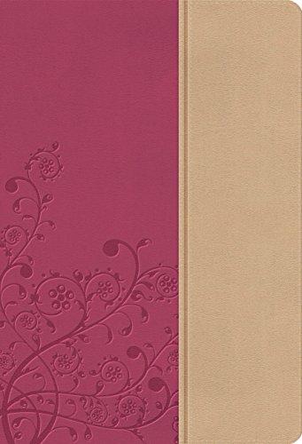 NKJV, The Woman's Study Bible, Imitation Leather, Pink/Tan