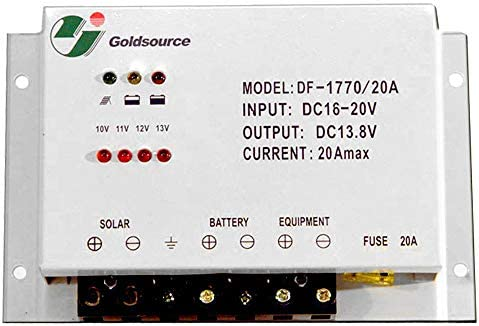 Solarregler, Laderegler 20A - bis 240W Modulleistung