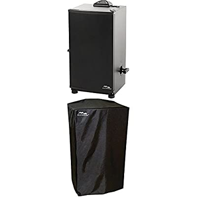 "Masterbuilt 20071117 30"" Digital Electric Smoker WITH Masterbuilt 30-Inch Electric Smoker Cover"
