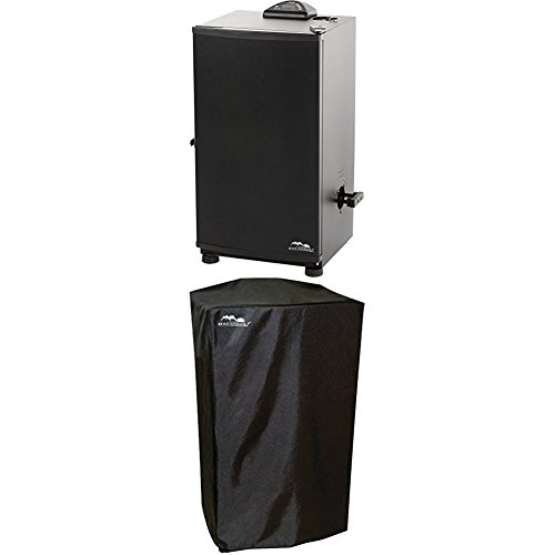 Masterbuilt 20071117 30'' Digital Electric Smoker  WITH Masterbuilt 30-Inch Electric Smoker Cover by