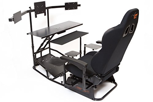 Volair Sim Universal Flight or Racing Simulation Cockpit Chassis