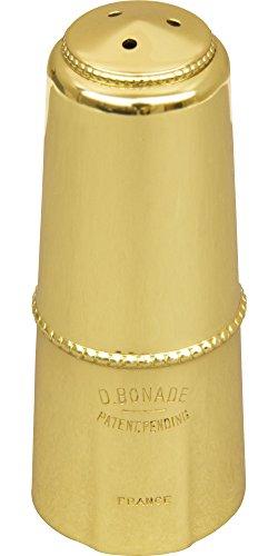 Bonade Alto Saxophone Mouthpiece Cap Gold Lacquer Cap - Inverted by Bonade