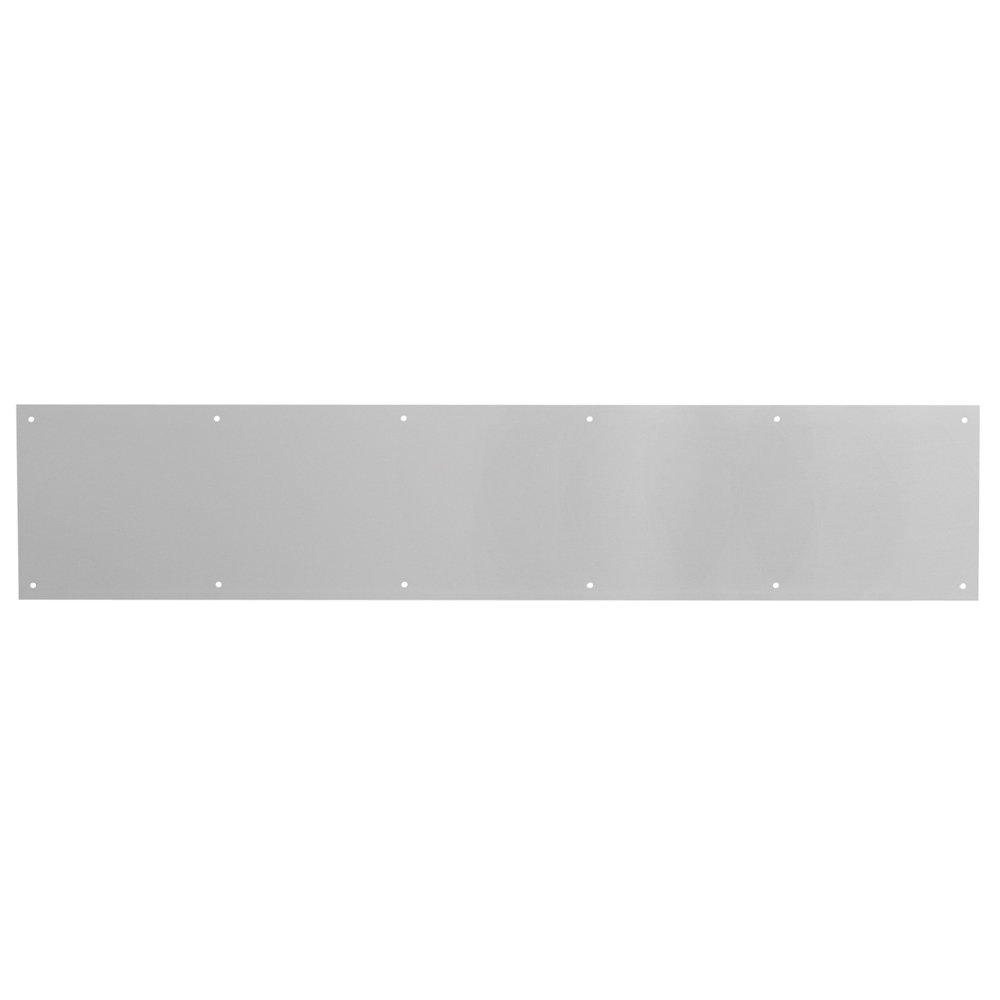 Prime-Line Products J 4702 Door Kick Plate, 1/32-inch x 34-Inch x 6-Inch, Satin Aluminum