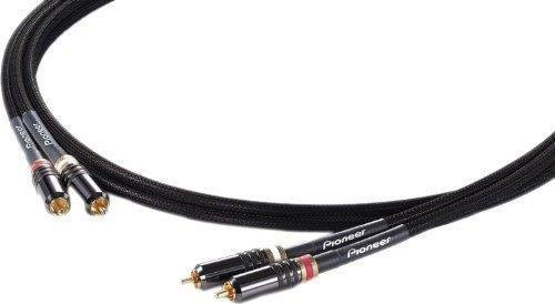 Pioneer DAS-RCA020R 1.73-Inch 1/4-Inch Stereo Instrument Cable