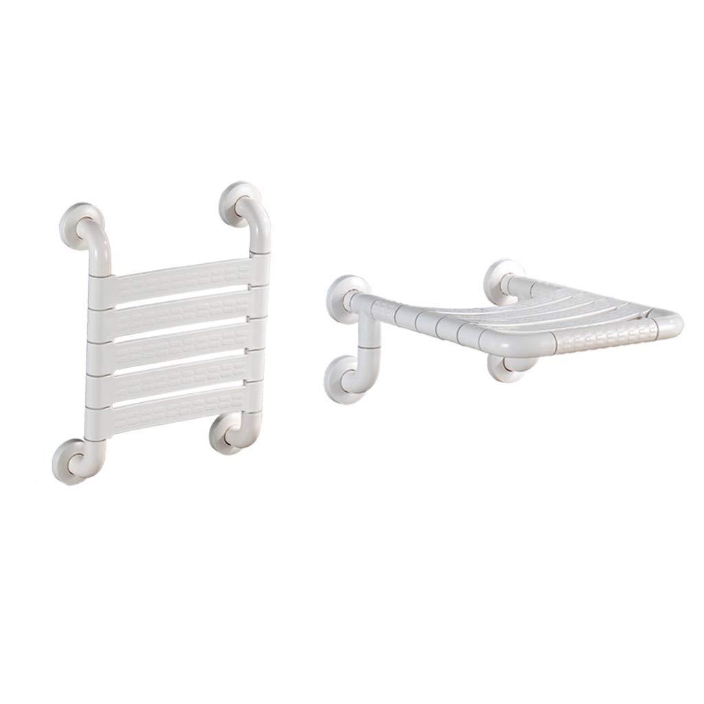 【激安セール】 シャワーシート、折りたたみ式椅子ウォールマウントアンチスキッドバスチェアチェンジシューズスツール大人用高齢者妊婦 B07J3XLWG3 : - 白 白 (Color : 1) 1 B07J3XLWG3, PC-POSのエフケイシステム:c8193e8b --- garagegrands.com