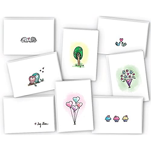 Love Note Cards Collection - 24 Cards & Envelopes Sales