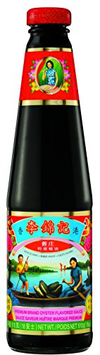Lee Kum Kee Premium Oyster Sauce, 18-Ounce Glass Bottles (Pack of 2)