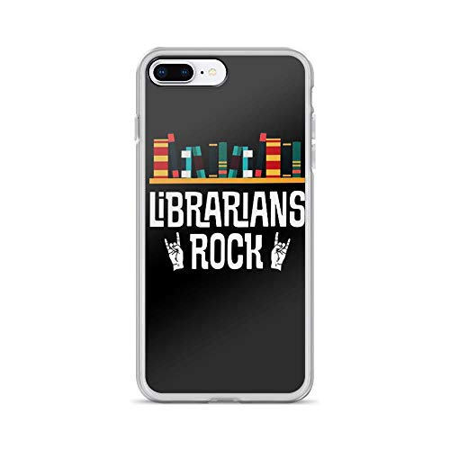 iPhone 7 Plus/8 Plus Pure Clear Case Cases Cover Librarians Rock Funny Graphic Design