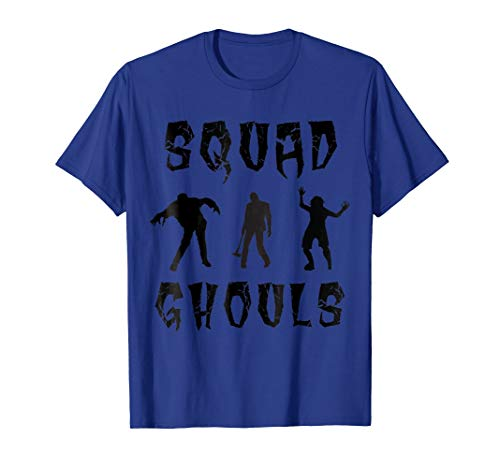 Cool Halloween Squad Ghouls T-shirt costume tee -
