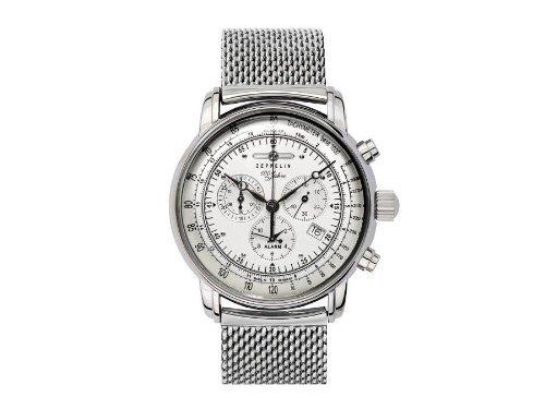 Zeppelin Watches - Reloj de cuarzo para hombre 7680 M1 con correa de metal por zeppelin relojes: Amazon.es: Relojes