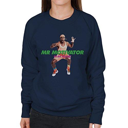 Mr Motivator In Da House Women's Sweatshirt Navy blue