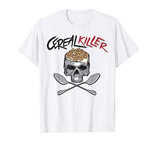 Cereal Killer Shirt | Cool I Love Eating Wheat Oats Tee Gift