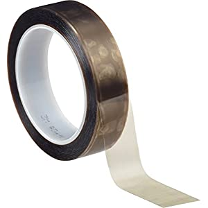 "3M 5490 Gray PTFE Film Tape, 1"" x 36 yd (1 Roll)"