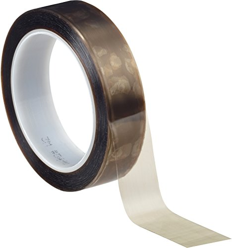 3MTMScotch Filmklebeband 5490, 25,4 mm x 33 m, 0,09 mm, Braun/Transparent