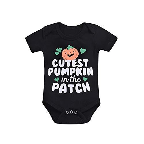 MODOQO Newborn Infant Baby's Romper Halloween Costumes Pumpkin