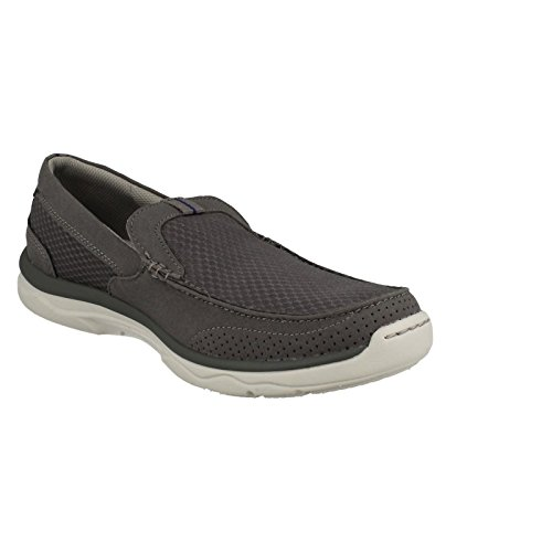 CLARKS Clarks Mens Shoe Marus Step Grey 11.0
