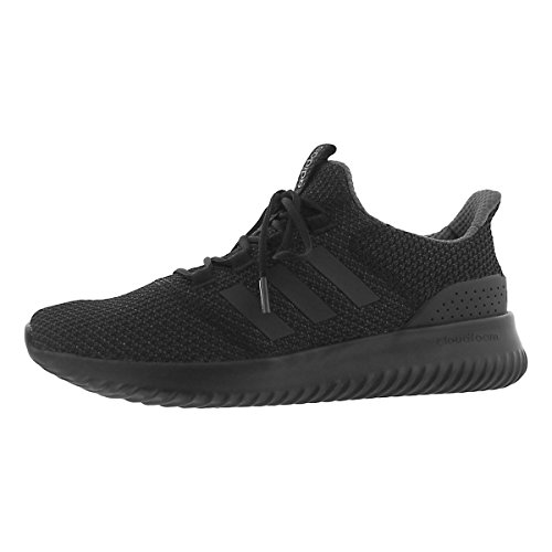 adidas Men's Cloudfoam Ultimate Running Shoe, Black/Black/Utility Black, 11 M US by adidas