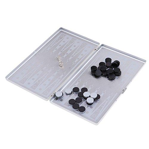 Perfk アルミ ポータブル 磁気 バックギャモンセット の商品画像