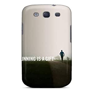 Samsung Galaxy S3 Shock Absorbent Hard Cell-phone Cases Provide Private Custom Vivid Running Is A Gift Pattern [pyV28058lxSP]