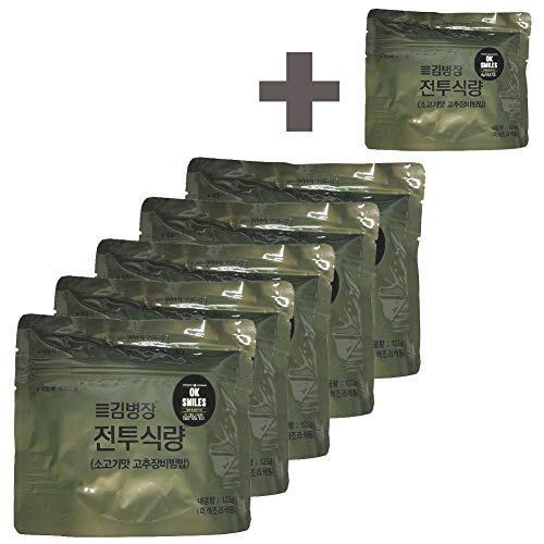 Korea mre korea Military food 120g/6pack Rations Combat Surplus!DATREX Emergency food for Disaster or Survival, Great for Fishing, Hunting!!!Free Spoon! Total 6 Pack