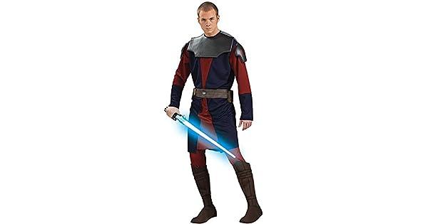 Amazon.com: Deluxe – Disfraz de Anakin Skywalker – estándar ...