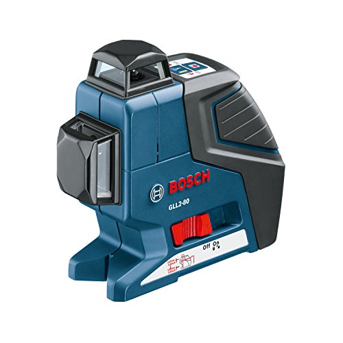 Bosch Dual Plane Leveling Laser with BM1 Positioning Device GLL 2-80