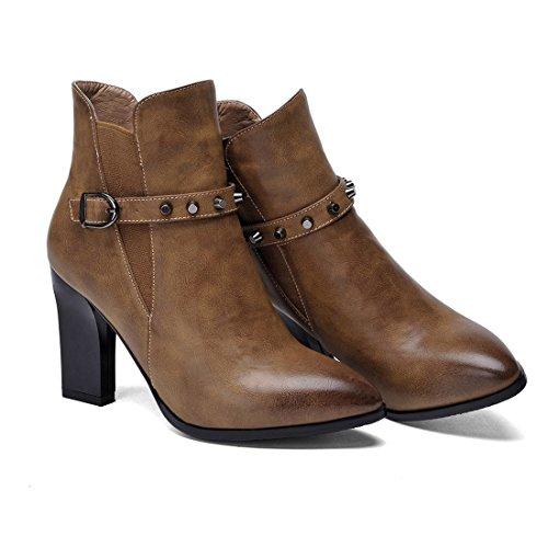 YL Women's Boots black khaki O6RjZc