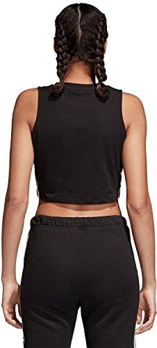 noir Femme shirt Noir Tank Adidas Crop T T xanwqXf0C