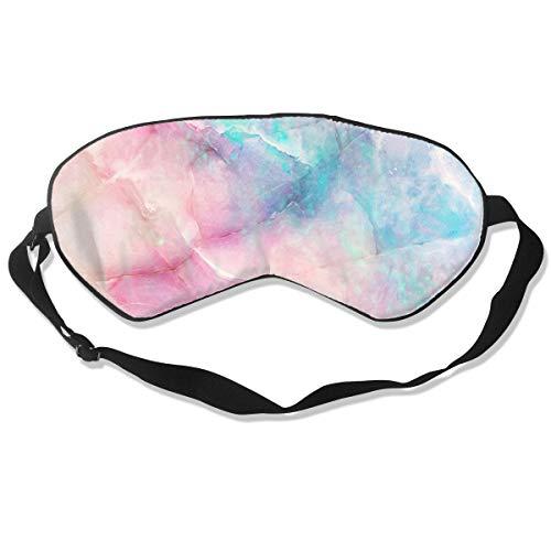 - Iridescent Marble Colorful Sleeping Sleep Mask Eye Masks Eye Cover for Travel Nap Meditation Blindfold for Men Women Kids