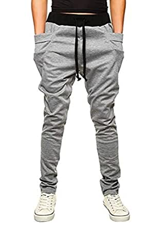 OBT Boy's Light Grey Slim Casual Cotton Comfy Skinny Running Jogger Pants 14